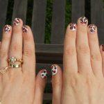 Scratchy Leopard Print Nails