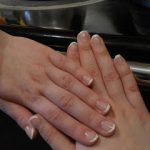 Neat French Manicure