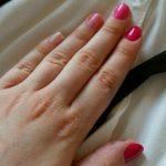 Pink Gradient Nails