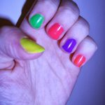Neon Nail Rave